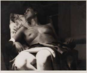 BOGUSLAW KALAS (POLISH, MODERN) Operates in the 2. Half of the 20th century. Century. UNTITLED (RECLINING DAMENAKT)