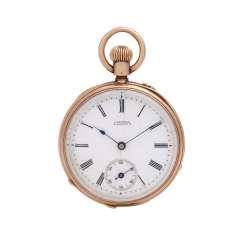 J. ASSMANN Lepine pocket watch.