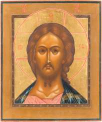 ICON WITH CHRIST 'THE GRIMME EYE'