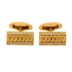 FABERGÉ by VICTOR MAYER Pair of cufflinks