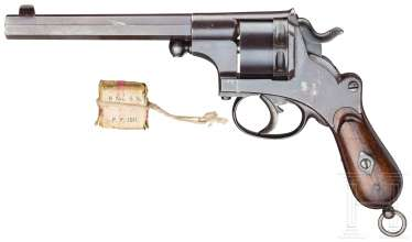 Officer revolver model 1873, J. F. J. Bar in Delft (scaled-down version of the model 1873)