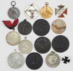 German Empire: Lot of Patriotic awards.