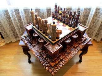 Chess Battle for Jerusalem ..a Kingdom of Conscience !