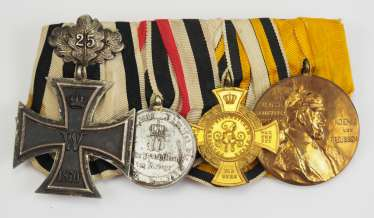 Prussia: Great medalbar of a non-fighter of the German-French war of 1870/71.