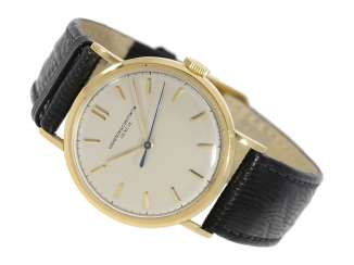 Watch: ultra-fine men's watch with Central seconds, Vacheron & Constantin, Genève, No. 474589, CA. 1948