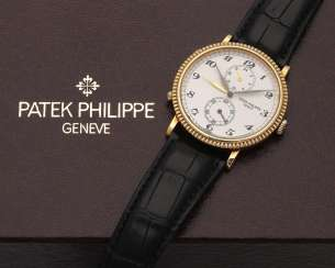 "Patek Philippe men's wristwatch ""Travel Time"" from 2000"