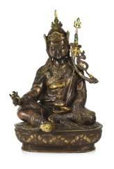 Part of gilded Bronze of the Padmasambhava