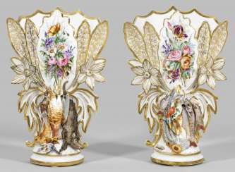 Pair of French Louis-Philippe vases
