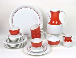 Rosenthal coffee service modulation * orange *