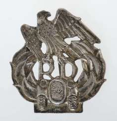 Mocking badge of the Russians on the German infantry assault badge on the failure of the German Eastern campaign. metal