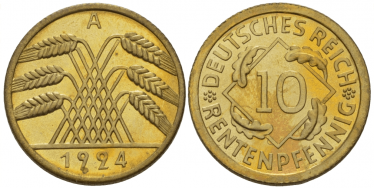 GERMANY 10 RECEPTIONYOU 1924
