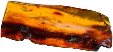 Large piece of amber with inclusions