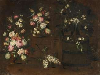 Still Life with Flower Vase and Jasmine