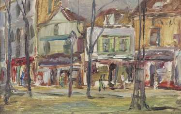 20th century painters '' shopping street ''
