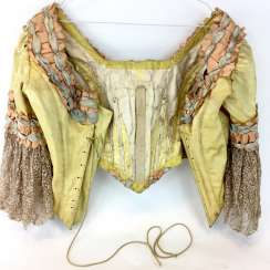 Hugo Baruch: costume from the Royal court theatre in Dresden: short jacket / Bolero jacket. 19. Century Rarity.