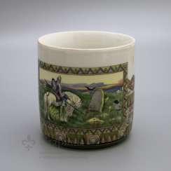 Mug in the Russian style