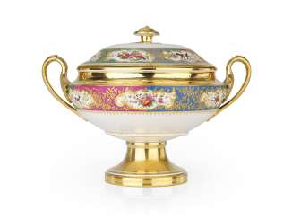 A Porcelain Soup-Tureen from the Grand Duke Mikhail Pavlovich Service