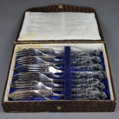 Fish cutlery for 6 people