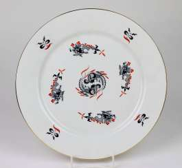 Meissen plate * rich dragon *