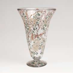 Large trophy Vase with arabesques