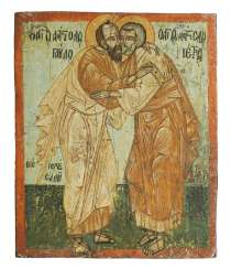 Rare icon of the apostles Peter and Paul