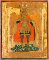 DATED ICON WITH THE ARCHANGEL MICHAEL