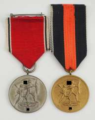 Medal for memory at the 13. March and 1. In October 1938.