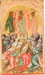 LARGE-FORMAT ICON WITH THE TRANSFIGURATION OF CHRIST