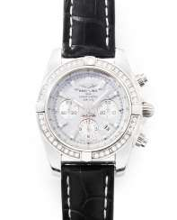 Breitling Brilliant-Mother-Of-Pearl Men's Watch
