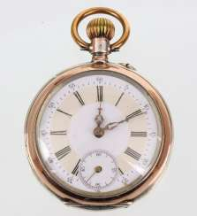 Mens Pocket Watch Silver