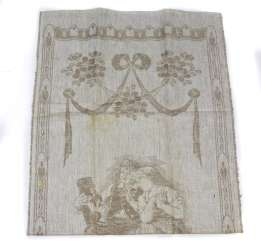 Art Nouveau Made towel around 1900