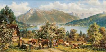 Spring at the Tegernsee
