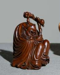 Boxwood carving Li Tieguai