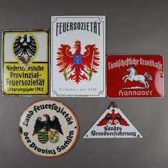 Five insurance labels