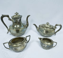 Coffee set of 4 items