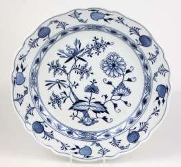Meissen large onion pattern plate
