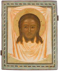 DATED ICON WITH THE MANDYLION Russia