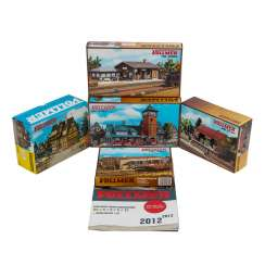 VOLLMER mixed lot of 5 H0 kits,