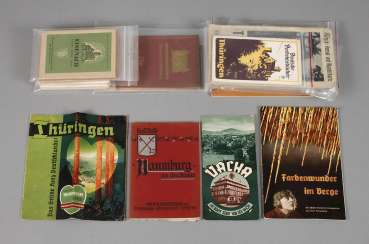 Vintage small travel guide to Thuringia