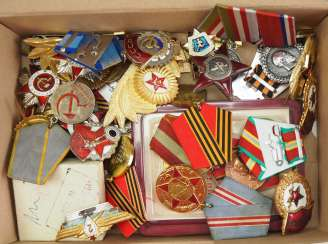 Soviet Union: Lot Of Awards.
