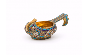 KOVSH, ATTRIBUTED TO FABERGÉ