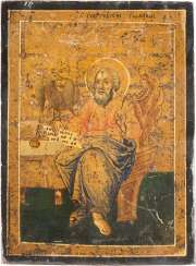 A SMALL ICON WITH ST. JOHN THE EVANGELIST