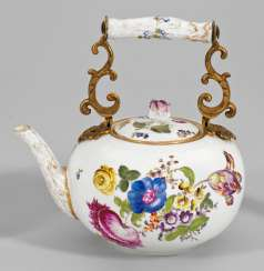 Large teapot with decorative