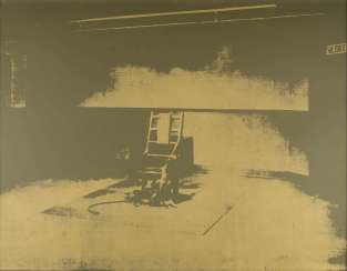 ANDY WARHOL (NACH) 1928 Pittsburgh - 1987 New York. ELECTRIC CHAIR