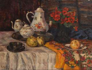 MÜLLER, length: still life with fruit.