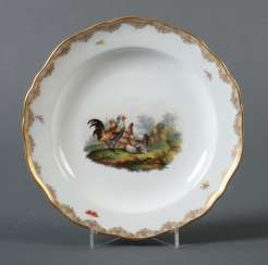 Ornamental plates with spring cattle idyll Meissen