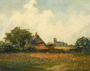 GUNDLACH, Henry: Church in Keitum on Sylt.