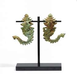 Pair Of Palanquin Hooks