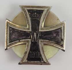Prussia: Iron Cross, 1914, 1. Class - Screw Back.