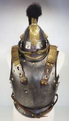 Bavaria: helmet M1842 and cuirass for enlisted in the cuirassiers.